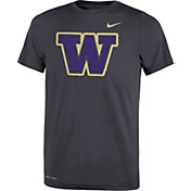 Nike Youth Washington Huskies Anthracite Travel Football Legend T-Shirt