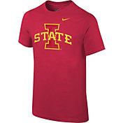 Nike Youth Iowa State Cyclones Crimson Logo T-Shirt