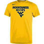 Nike Youth West Virginia Mountaineers Gold Basketball Legend T-Shirt