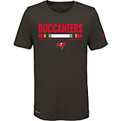 Nike Youth Tampa Bay Buccaneers Legend Staff Performance Pewter T-Shirt