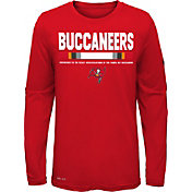 Nike Youth Tampa Bay Buccaneers Legend Staff Red Long Sleeve Shirt