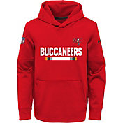 Nike Youth Tampa Bay Buccaneers Therma-FIT Red Performance Pullover Hoodie
