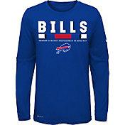Nike Youth Buffalo Bills Legend Staff Royal Long Sleeve Shirt