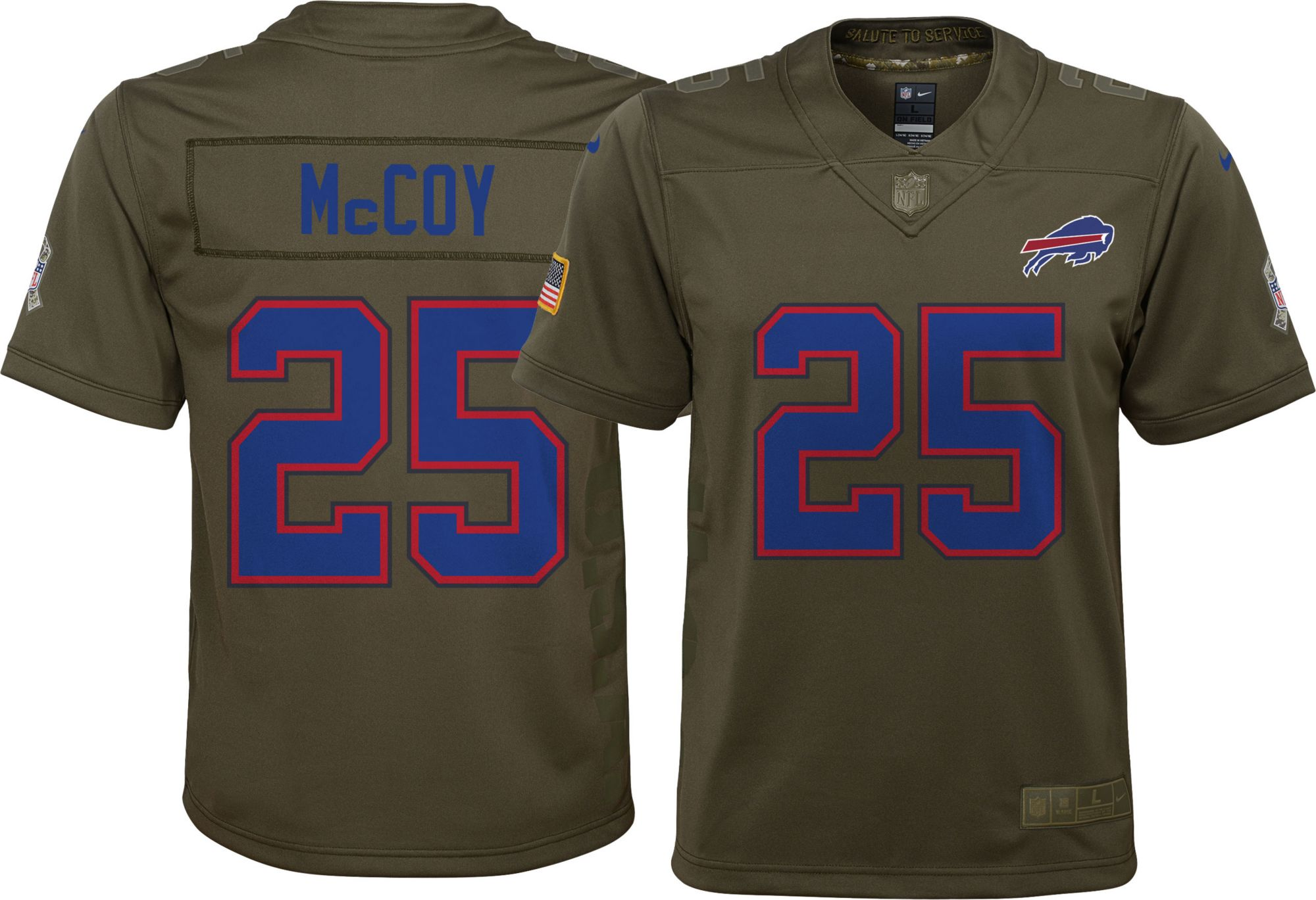 Nike Youth Home Bills Limited Salute To Service Buffalo Bills Home Lesean Mccoy 1a7ed3