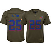 Nike Youth Home Limited Salute to Service Buffalo Bills LeSean McCoy #25 Jersey