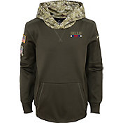 Nike Youth Buffalo Bills Salute to Service 2017 Therma-FIT Pullover Hoodie