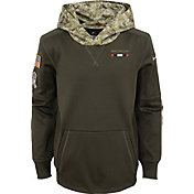 Nike Youth Denver Broncos Salute to Service 2017 Therma-FIT Pullover Hoodie