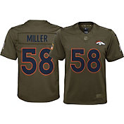 Nike Youth Home Limited Salute to Service 2017 Denver Broncos Von Miller #58 Jersey