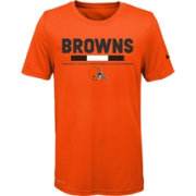 Nike Youth Cleveland Browns Legend Staff Performance Orange T-Shirt