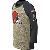 Nike Youth Cleveland Browns Salute to Service 2017 Raglan