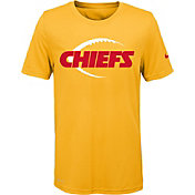 Nike Youth Kansas City Chiefs Legend Icon Performance Gold T-Shirt