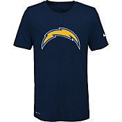 Nike Youth Los Angeles Chargers Legend Logo Navy Performance T-Shirt