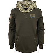 Nike Youth Indianapolis Colts Salute to Service 2017 Therma-FIT Pullover Hoodie