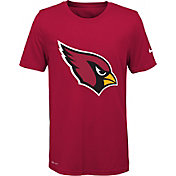 Nike Youth Arizona Cardinals Legend Logo Red Performance T-Shirt