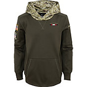 Nike Youth Atlanta Falcons Salute to Service 2017 Therma-FIT Pullover Hoodie