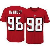 Nike Youth Atlanta Falcons Takkarist McKinley #98 Pride Red T-Shirt