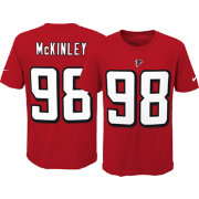 Nike Youth Atlanta Falcons Takkarist McKinley #98 Pride Red T-Shirt