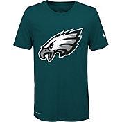 Nike Youth Philadelphia Eagles Legend Logo Green Performance T-Shirt