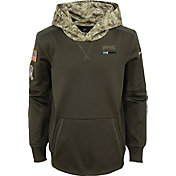 Nike Youth Philadelphia Eagles Salute to Service 2017 Therma-FIT Pullover Hoodie