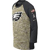 Nike Youth Philadelphia Eagles Salute to Service 2017 Raglan
