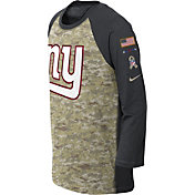 Nike Youth New York Giants Salute to Service 2017 Raglan