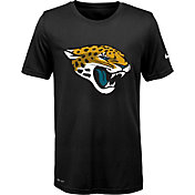Nike Youth Jacksonville Jaguars Legend Logo Black Performance T-Shirt