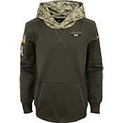 Nike Youth New York Jets Salute to Service 2017 Therma-FIT Pullover Hoodie
