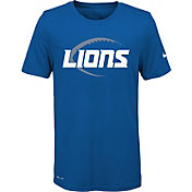 Nike Youth Detroit Lions Legend Icon Performance Blue T-Shirt