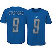 Nike Youth Detroit Lions Matthew Stafford #9 Pride Blue T-Shirt