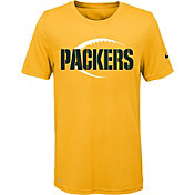 Nike Youth Green Bay Packers Legend Icon Performance Gold T-Shirt