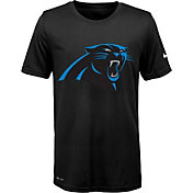 Nike Youth Carolina Panthers Legend Logo Black Performance T-Shirt