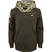 Nike Youth New England Patriots Salute to Service 2017 Therma-FIT Pullover Hoodie