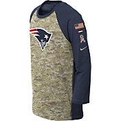 Nike Youth New England Patriots Salute to Service 2017 Raglan