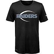 Nike Youth Oakland Raiders Legend Icon Performance Black T-Shirt