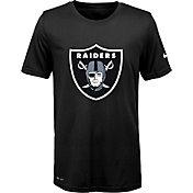 Nike Youth Oakland Raiders Legend Logo Black Performance T-Shirt