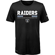 Nike Youth Oakland Raiders Legend Staff Performance Black T-Shirt