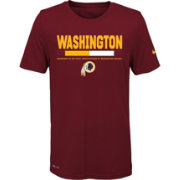 Nike Youth Washington Redskins Legend Staff Performance Red T-Shirt