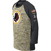 Nike Youth Washington Redskins Salute to Service 2017 Raglan