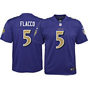 Nike Youth Color Rush 2017 Game Jersey Baltimore Ravens Joe Flacco #5