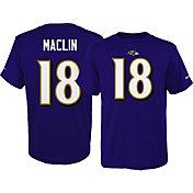 Nike Youth Baltimore Ravens Jeremy Maclin #18 Pride Purple T-Shirt