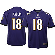 Nike Youth Home Game Jersey Baltimore Ravens Jeremy Maclin #18