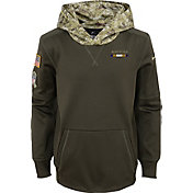 Nike Youth Baltimore Ravens Salute to Service 2017 Therma-FIT Pullover Hoodie
