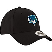 New Era Youth Seattle Seahawks Front Logo 9Forty Black Adjustable Hat
