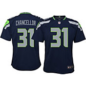 Nike Youth Home Game Jersey Seattle Seahawks Kam Chancellor #31