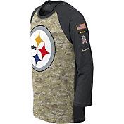 Nike Youth Pittsburgh Steelers Salute to Service 2017 Raglan