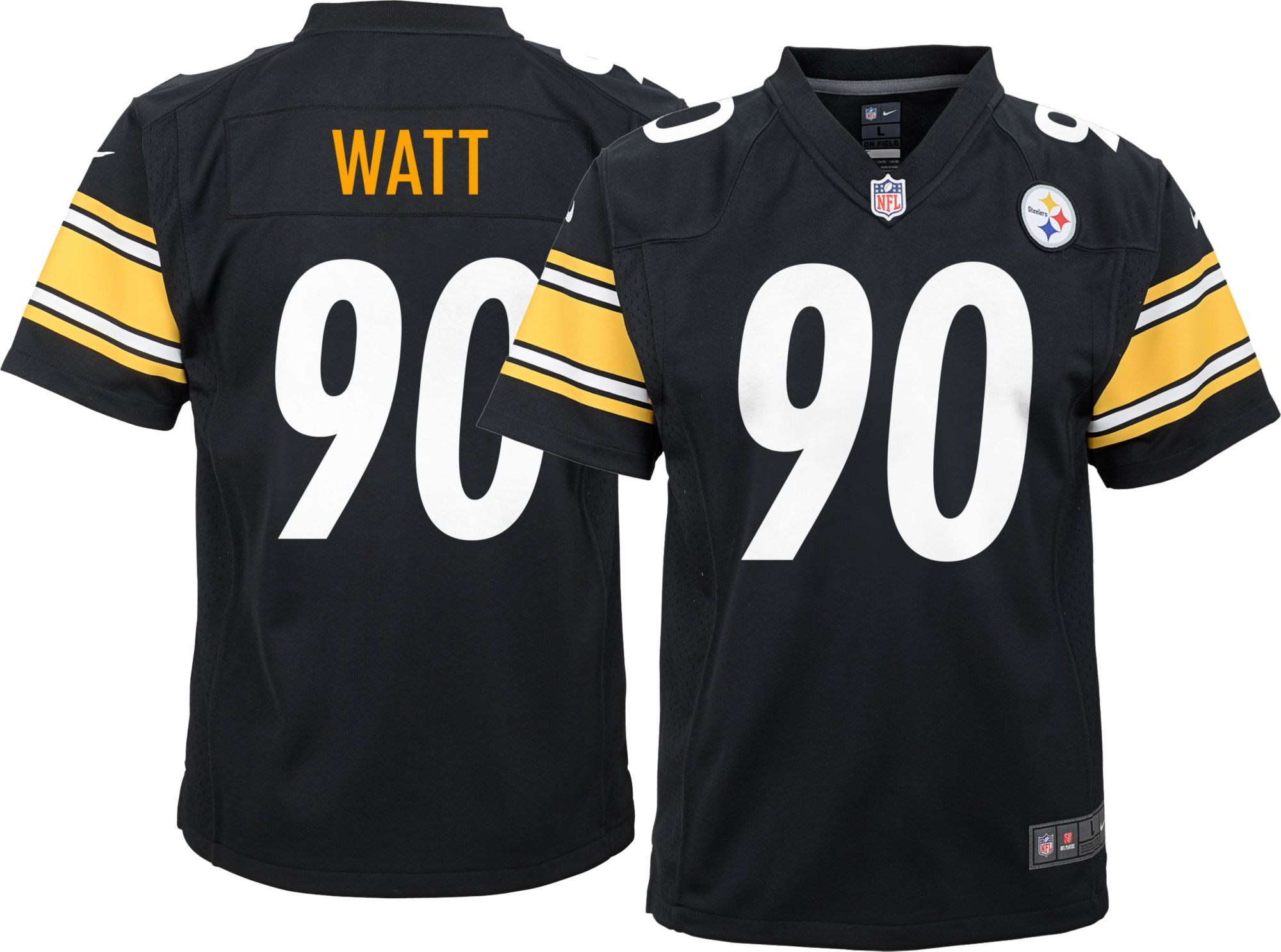 5002ba119cc ... NFL Pittsburgh Steelers Nike Nike Youth Home Game Jersey Pittsburgh  Steelers T.J. Watt 90 ...