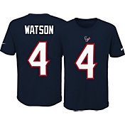 Nike Youth Houston Texans Deshaun Watson #4 Pride Navy T-Shirt