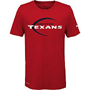Nike Youth Houston Texans Legend Icon Performance Red T-Shirt