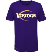 Nike Youth Minnesota Vikings Legend Icon Performance Purple T-Shirt