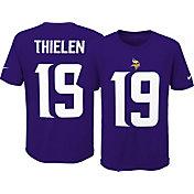 Nike Youth Minnesota Vikings Adam Thielen #19 Pride Purple T-Shirt